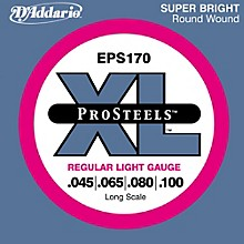 D'Addario ProSteels EPS170 Regular Light Long Scale Bass Strings