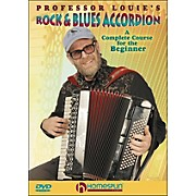 Homespun Professor Louie's Rock And Blues Accordion:  A Complete Course for The Beginner DVD