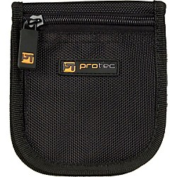 Protec A219 Small Brass 3-Mouthpiece Zipper Pouch (A-219)