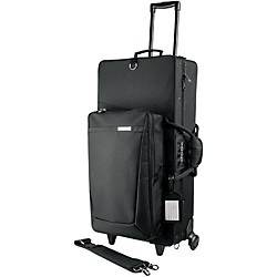 Protec Pro Pac Alto and Straight Soprano Saxophone Combination Case with Wheels (PB304SOPWL)