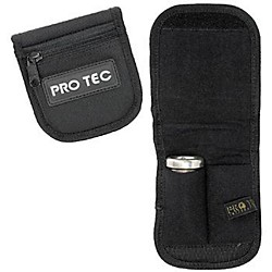 Protec Small Brass 2-Mouthpiece Belt Pouch (A-220)