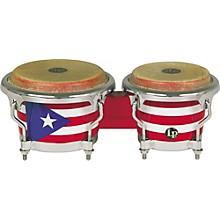LP Puerto Rican Flag Mini-Bongos