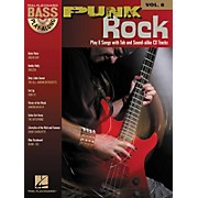 Hal Leonard Punk Rock: Bass Play-Along Series, Volume 8 (Book/CD)