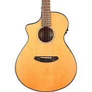Breedlove Pursuit Concert Left-Handed Acoustic-Electric Guitar