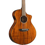 Breedlove Pursuit Exotic Concert CE Koa-Koa Acoustic-Electric Guitar