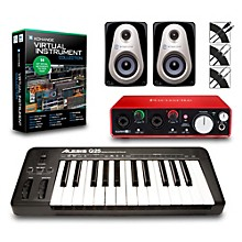 Alesis Q25 25-Key MIDI Keyboard Controller Packages