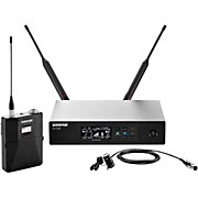Shure QLX-D Digital Wireless System with WL185 Cardioid Lavalier
