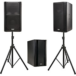QSC K12 Powered Speaker Package (K12KSUB)