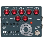 Tech 21 Q\Strip Dual Parametric EQ Instrument DI Pedal