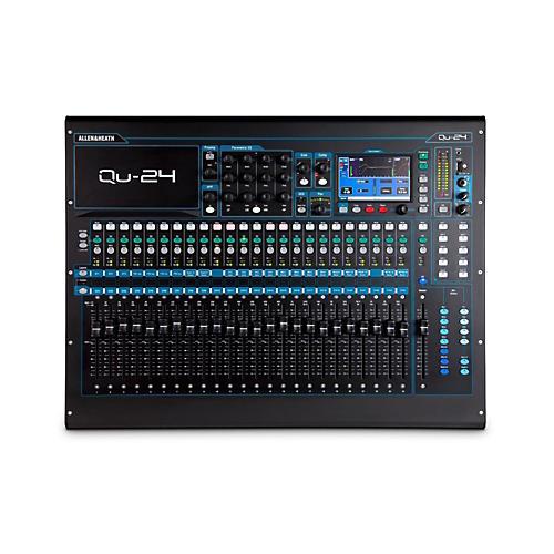 Allen & Heath Qu-24 24-Channel Digital Mixer-thumbnail