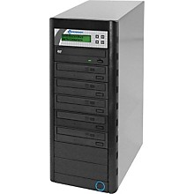 Microboards Quic Disc DVD H125, Economy CD/DVD Duplicator 1:5 with Hard-Drive