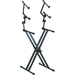 Quik-Lok Three Tier Heavy Duty X Keyboard Stand (AMS-QL-623)