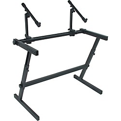 Quik-Lok Two Tier Z Keyboard Stand (AMS-Z-726L)