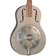 Regal RC-43 Antiqued Nickel-Plated Body Triolian Resonator Guitar