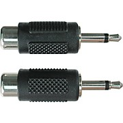 "Hosa RCA Female to Mono 1/8"" Adapter"