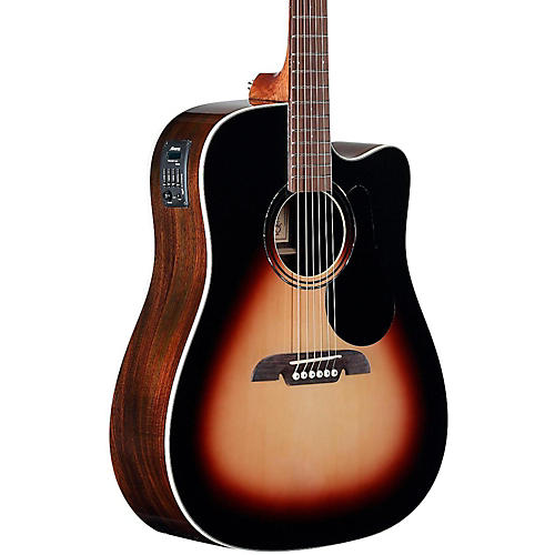 Alvarez RD270CESB Dreadnought Acoustic-Electric Guitar Sunburst-thumbnail