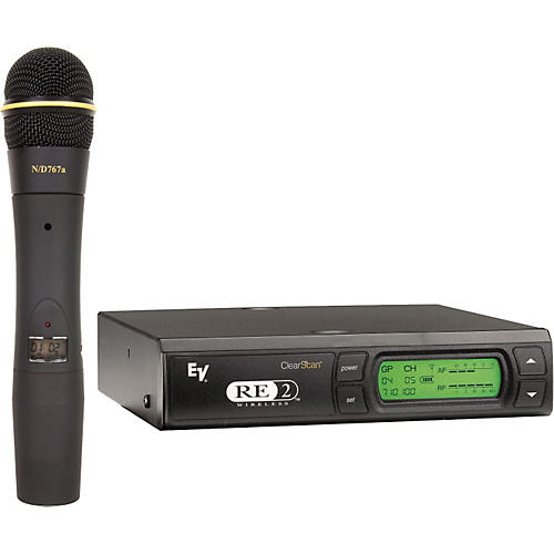 Electro-Voice RE2-N7 Wireless System with EV 767a Dynamic Element-thumbnail