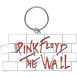 ROCK OFF Pink Floyd The Wall Key Ring Wall Logo Keychain (PINKKEY01)