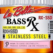 LaBella RX-S5D RX Stainless 5-String Electric Bass Strings