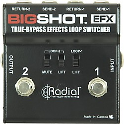 Radial Engineering BigShot EFX Effects Loop (R800-7204)