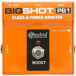 Radial Engineering BigShot PB1 Class-A Power Booster (R800-7220)