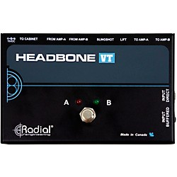 Radial Engineering Headbone VT Amp Head Switcher for Tube Amps (R800 7082)
