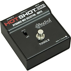 Radial Engineering HotShot DM1 Microphone Signal Muting Footswitch (R800 1700)