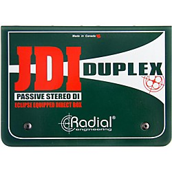 Radial Engineering JDI Duplex mk4 Stereo Direct Box (R800 1020)