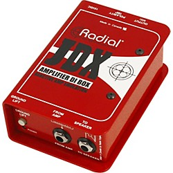 Radial Engineering JDX Reactor Guitar Amp and Cabinet Direct Box (R800 1400)