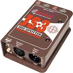 Radial Engineering JS3 Passive Microphone Splitter Direct Box (R800 1023)