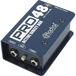 Radial Engineering Pro48 Active 48-Volt Compact Active Direct Box (R800-1105)