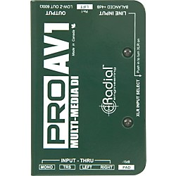 Radial Engineering ProAV1 Single-Channel Direct Box (R800-1112)