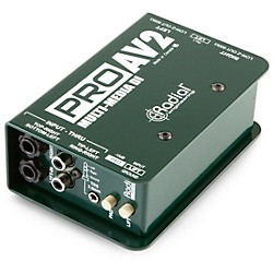 Radial Engineering ProAV2 Stereo Direct Box (R800 1115 00)