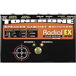 Radial Engineering Tonebone Cab-bone EX Speaker Cabinet Switcher 300 Watt (R800 7087)