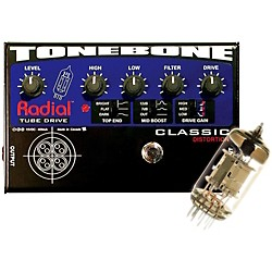 Radial Engineering Tonebone Classic Tube Distortion Pedal (R800 7010 00)