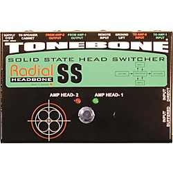 Radial Engineering Tonebone Headbone SS Switcher for Solid-State Amps (R800 7084)