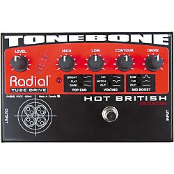 Radial Engineering Tonebone Hot British Tube Drive Effects Pedal (R800 7020)