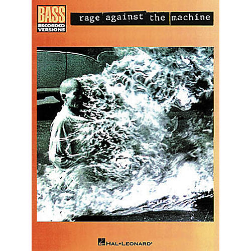 Hal Leonard Rage Against the Machine Bass Guitar Tab Songbook-thumbnail