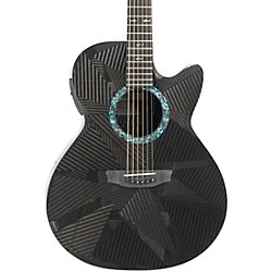 Rainsong Black Ice Series BI-WS1000N2 Graphite Acoustic-Electric Guitar (BI-WS1000N2)