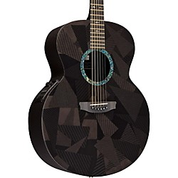 Rainsong Black Ice Series BIJM1000N2 Graphite Acoustic-Electric Guitar (BIJM1000N2)