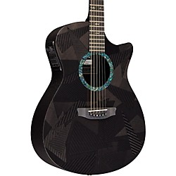 Rainsong Black Ice Series Orchestra Acoustic-Electric Guitar (BI-OM1000N2)