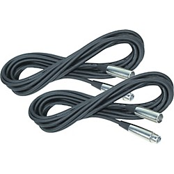 Rapco Horizon Lo-Microphone Cable 20 Feet 2-Pack (KIT885525)