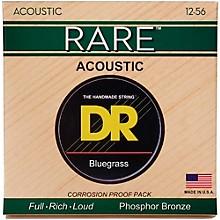 DR Strings Rare Phos Bronze Bluegrass Acoustic Guitar Strings