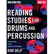 Berklee Press Reading Studies for Drums and Percussion Berklee Guide Series Softcover Written by Ron Delp