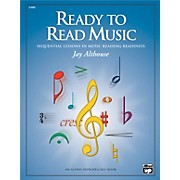 Alfred Ready to Read Music: Sequential Lessons in Music Reading Readiness Book