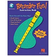 Hal Leonard Recorder Fun - Teach Yourself The Easy Way (Book/Online Audio)