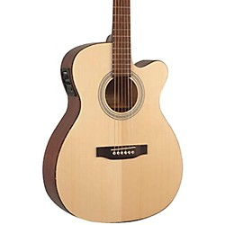 Recording King Classic Series OOO Cutaway Acoustic-Electric Guitar (ROM-06-CFE4)