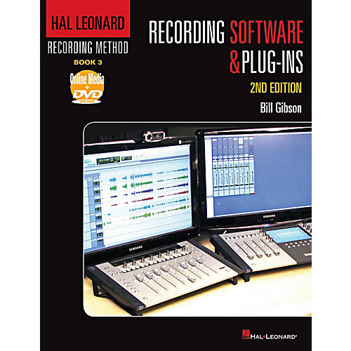 Hal Leonard Recording Method - Book 3: Recording Software & Plug-ins - 2nd Edition Book/DVD-ROM-thumbnail
