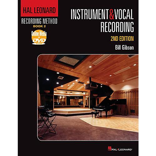 Hal Leonard Recording Method - Instruments & Vocal Recording 2nd Edition-thumbnail