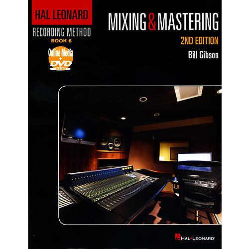 Hal Leonard Recording Method Book 6 - Mixing & Mastering 2nd Edition Book/DVD-thumbnail